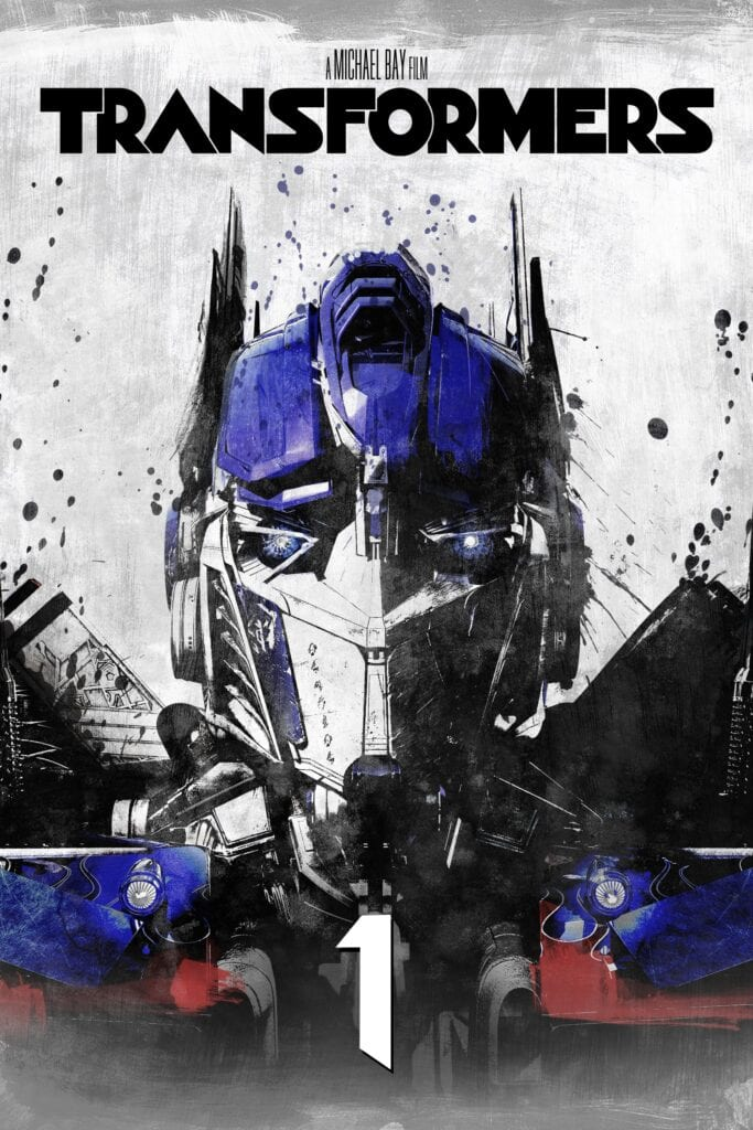 """Poster for the movie """"Transformers"""""""