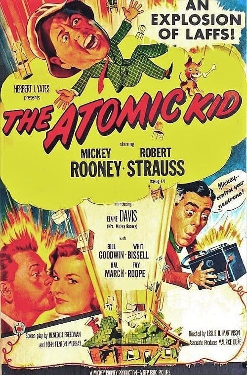 """Poster for the movie """"The Atomic Kid"""""""