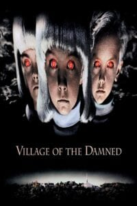 """Poster for the movie """"Village of the Damned"""""""