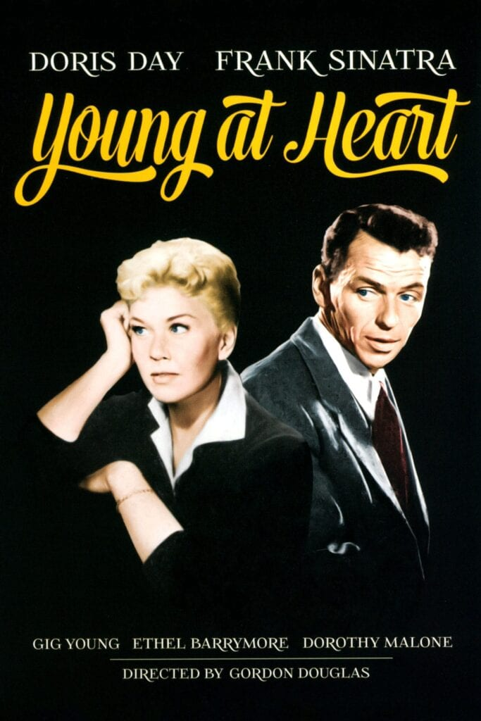 """Poster for the movie """"Young at Heart"""""""