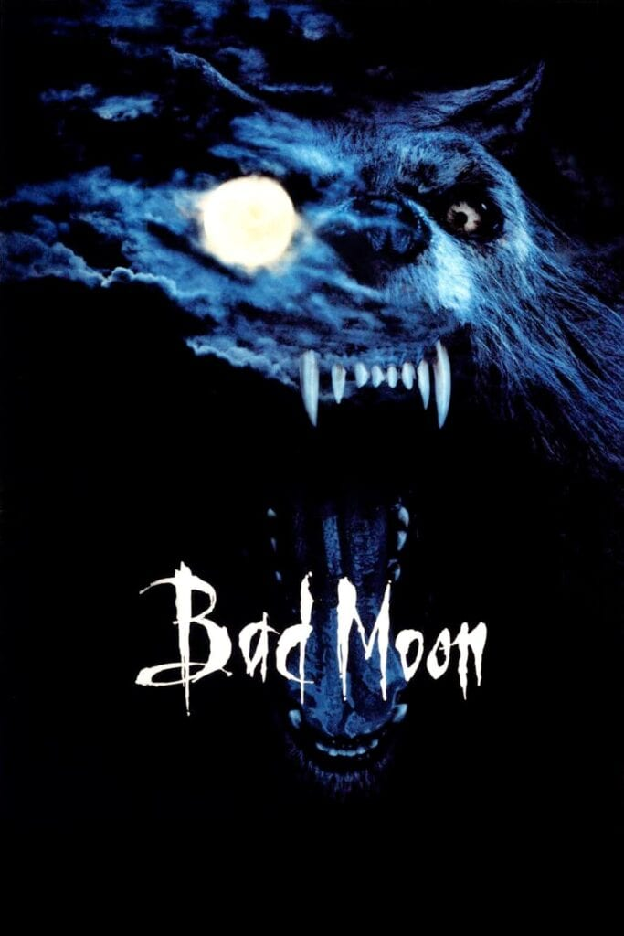 """Poster for the movie """"Bad Moon"""""""