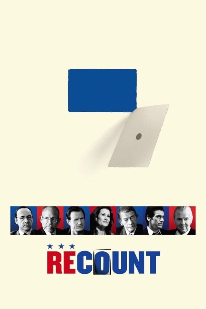 """Poster for the movie """"Recount"""""""