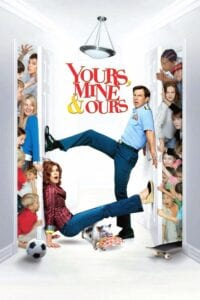 "Poster for the movie ""Yours, Mine & Ours"""