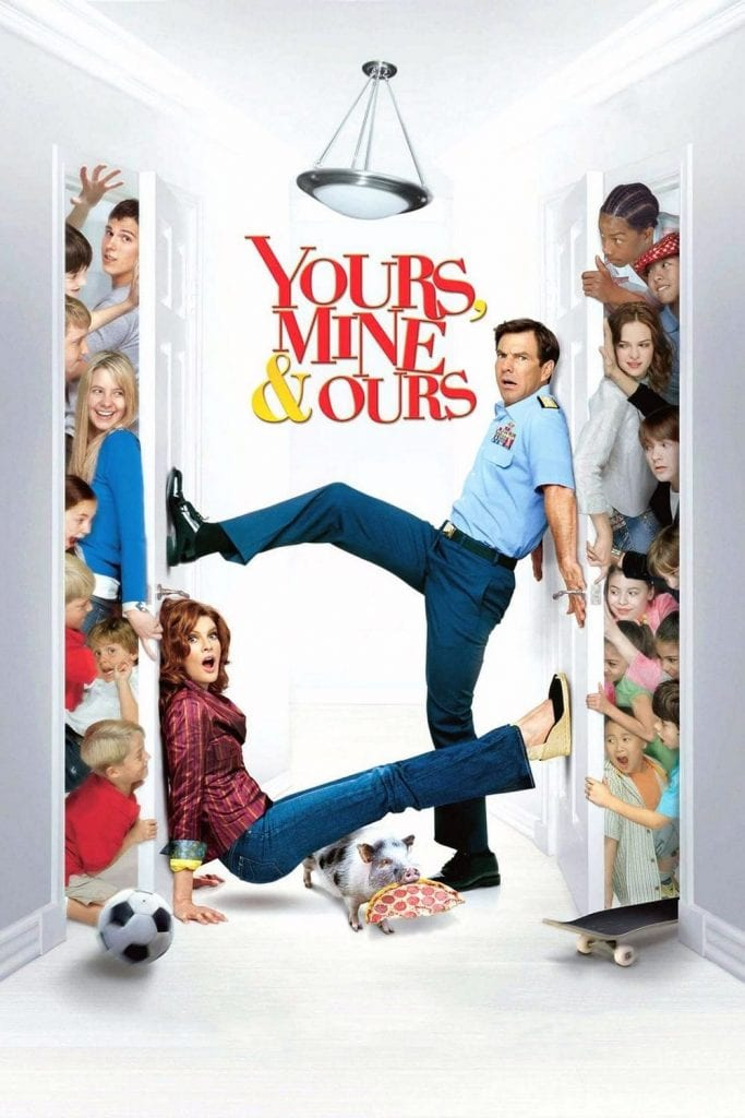 """Poster for the movie """"Yours, Mine & Ours"""""""