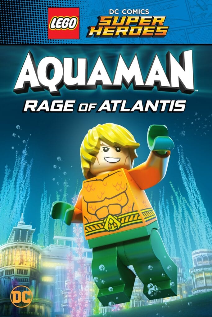 """Poster for the movie """"LEGO DC Super Heroes - Aquaman: Rage Of Atlantis"""""""