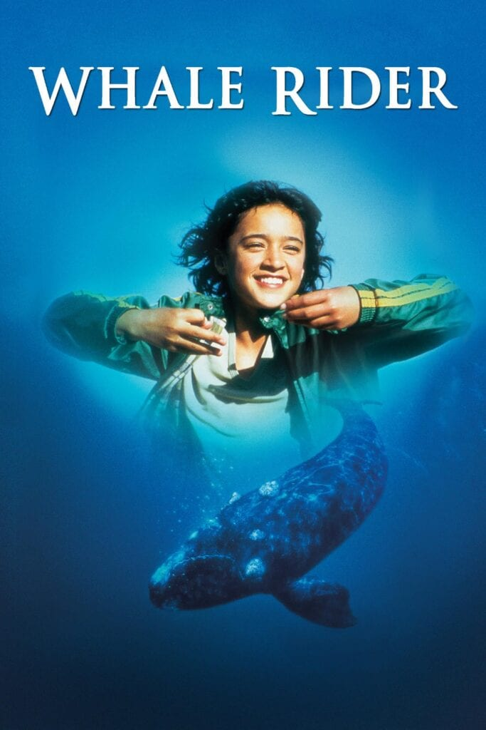 """Poster for the movie """"Whale Rider"""""""