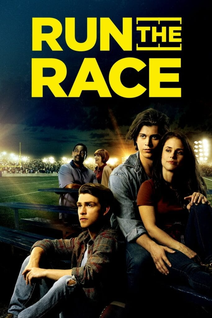 """Poster for the movie """"Run the Race"""""""