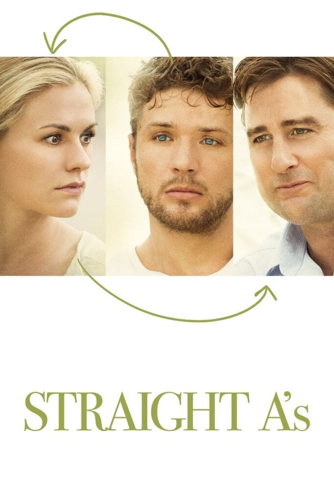 """Poster for the movie """"Straight A's"""""""