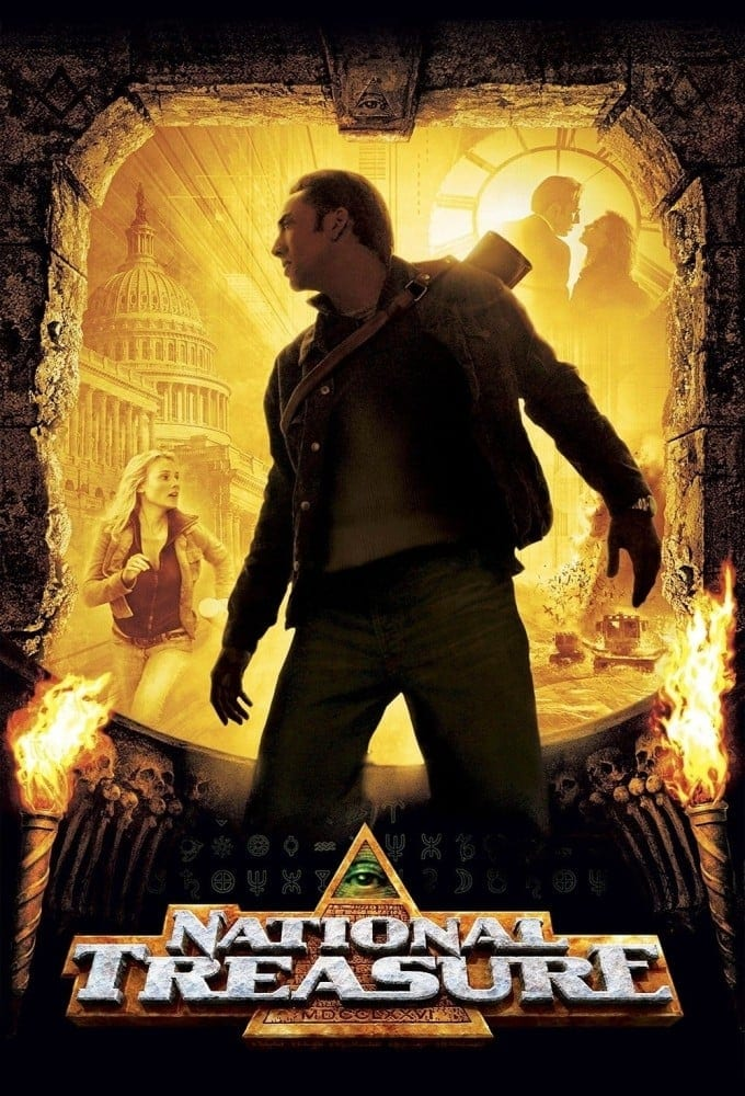 """Poster for the movie """"National Treasure"""""""