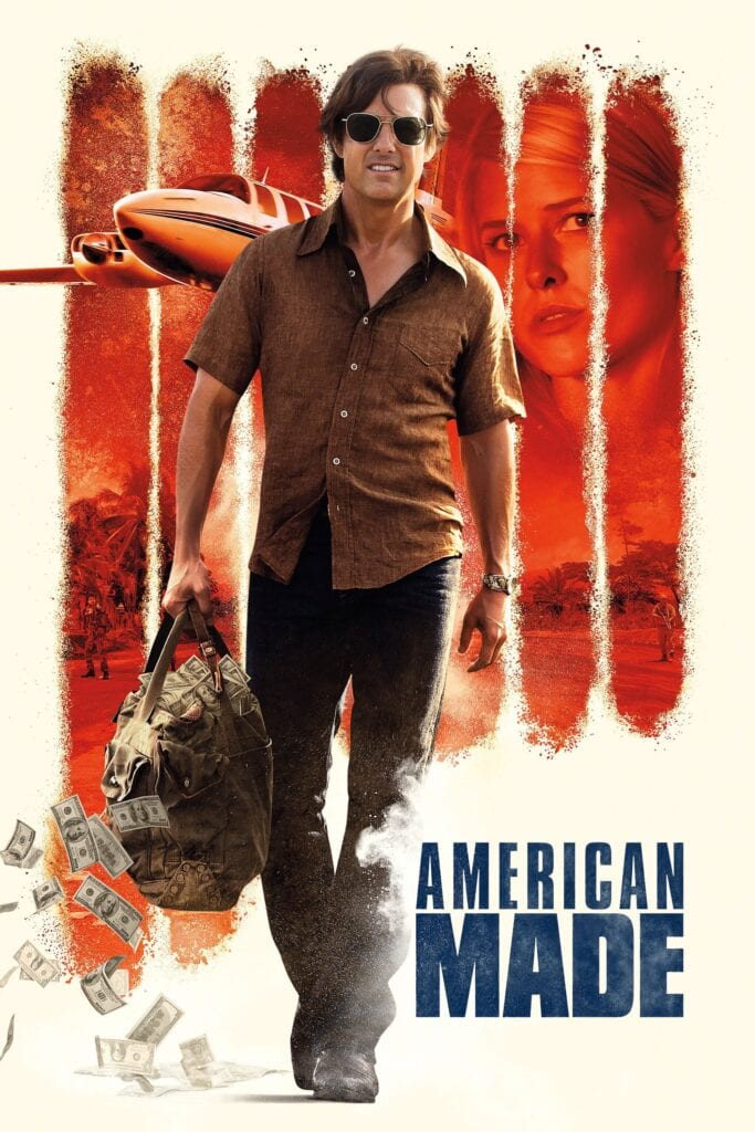 """Poster for the movie """"American Made"""""""