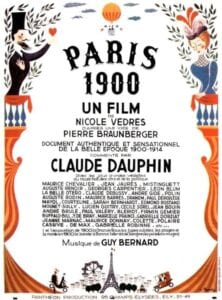 """Poster for the movie """"Paris 1900"""""""