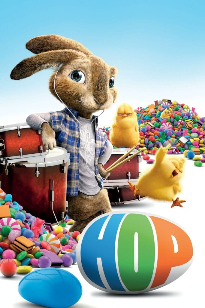 """Poster for the movie """"Hop"""""""