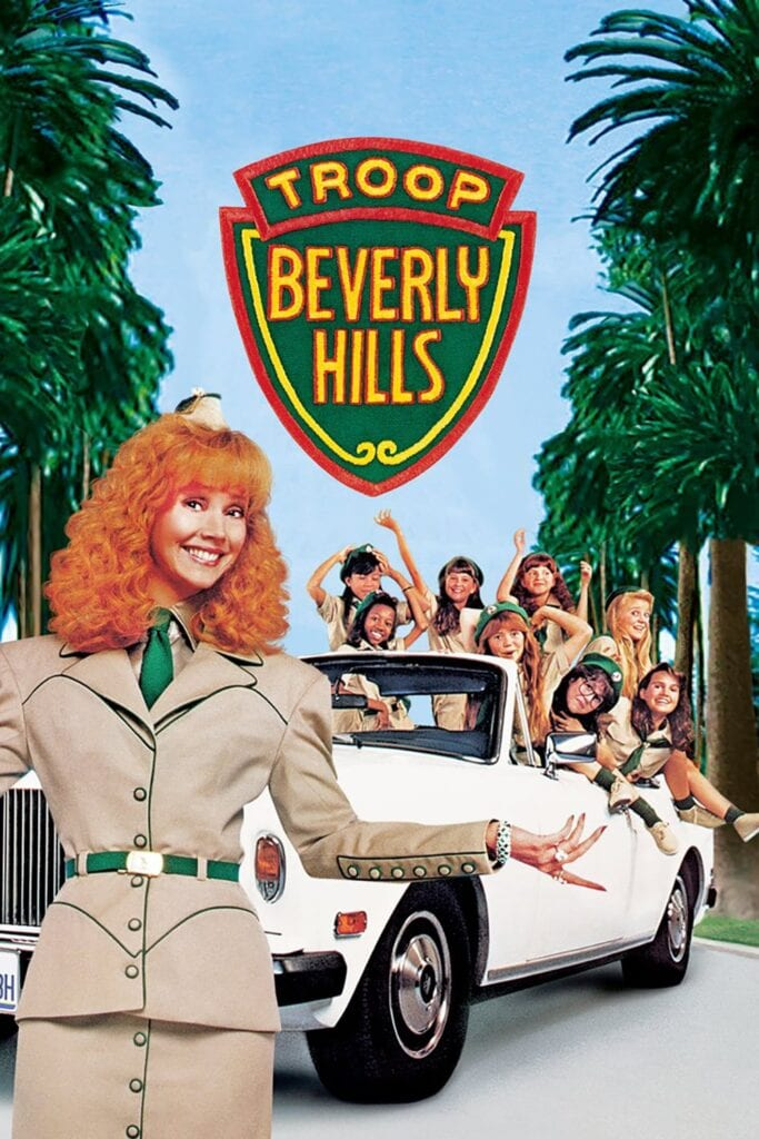 """Poster for the movie """"Troop Beverly Hills"""""""