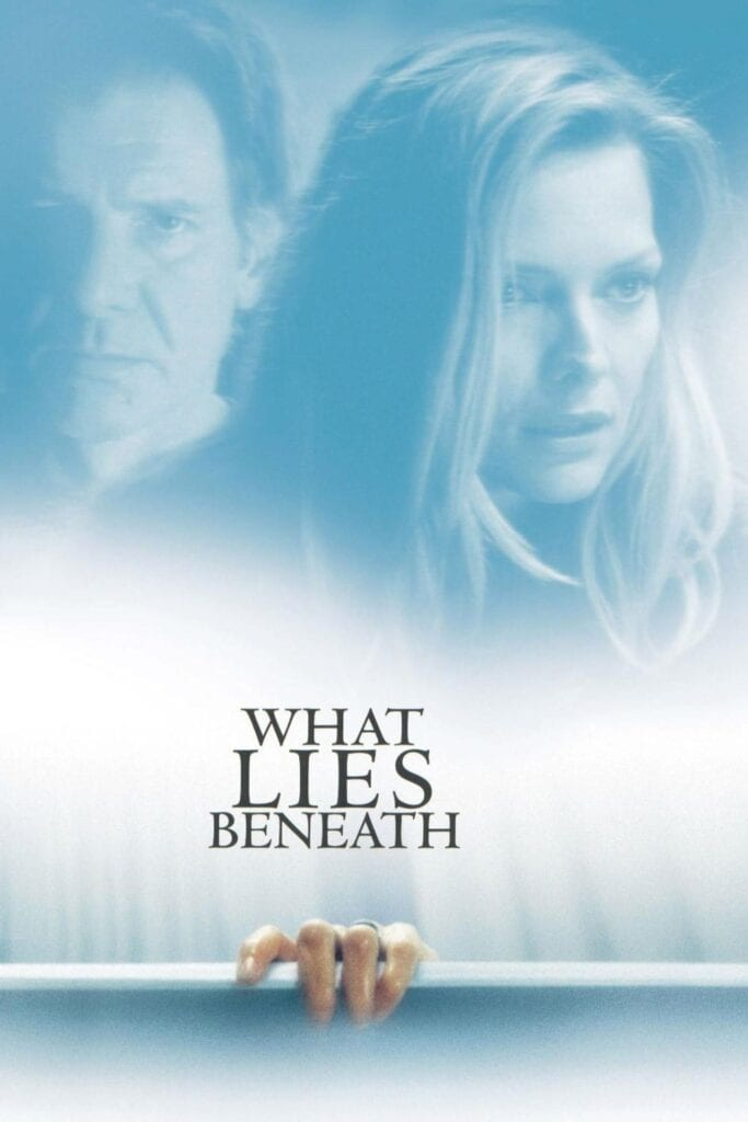 """Poster for the movie """"What Lies Beneath"""""""