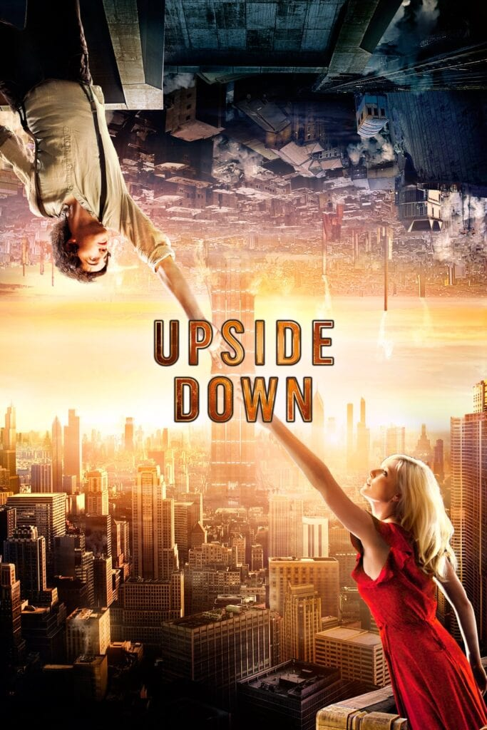 """Poster for the movie """"Upside Down"""""""