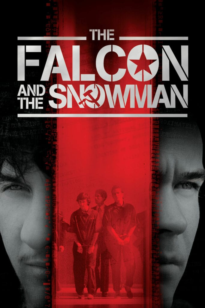 """Poster for the movie """"The Falcon and the Snowman"""""""