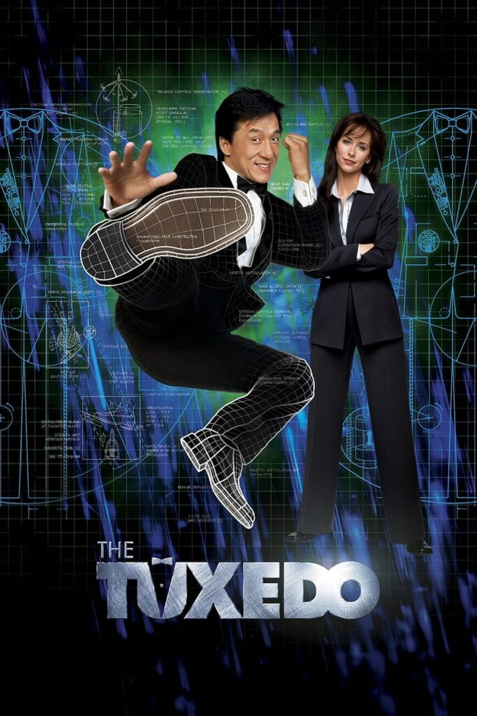 """Poster for the movie """"The Tuxedo"""""""