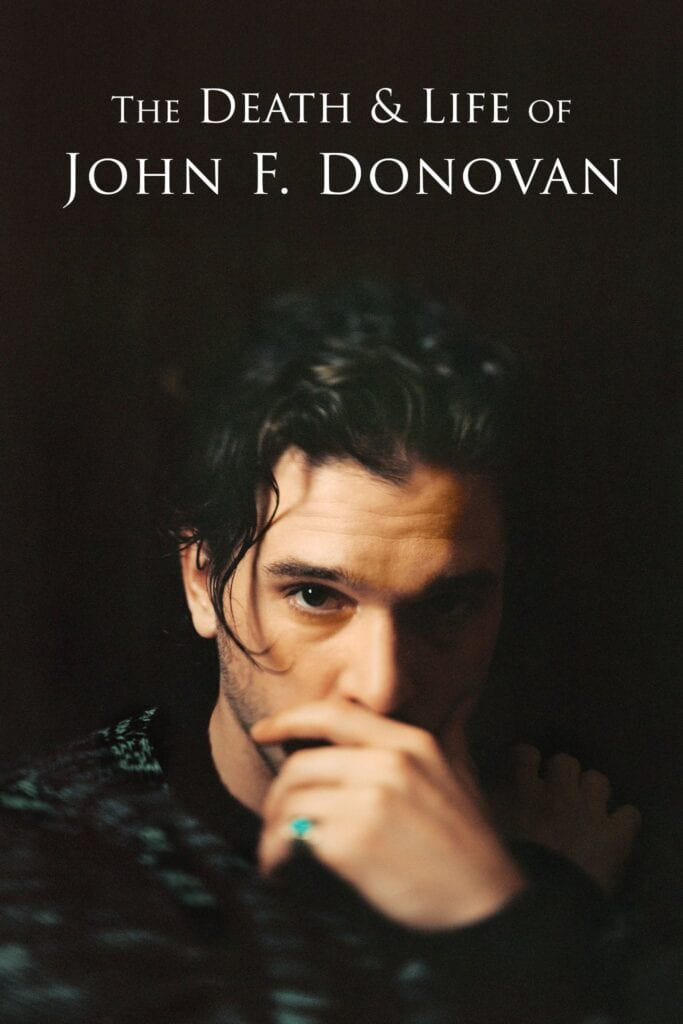 """Poster for the movie """"The Death & Life of John F. Donovan"""""""