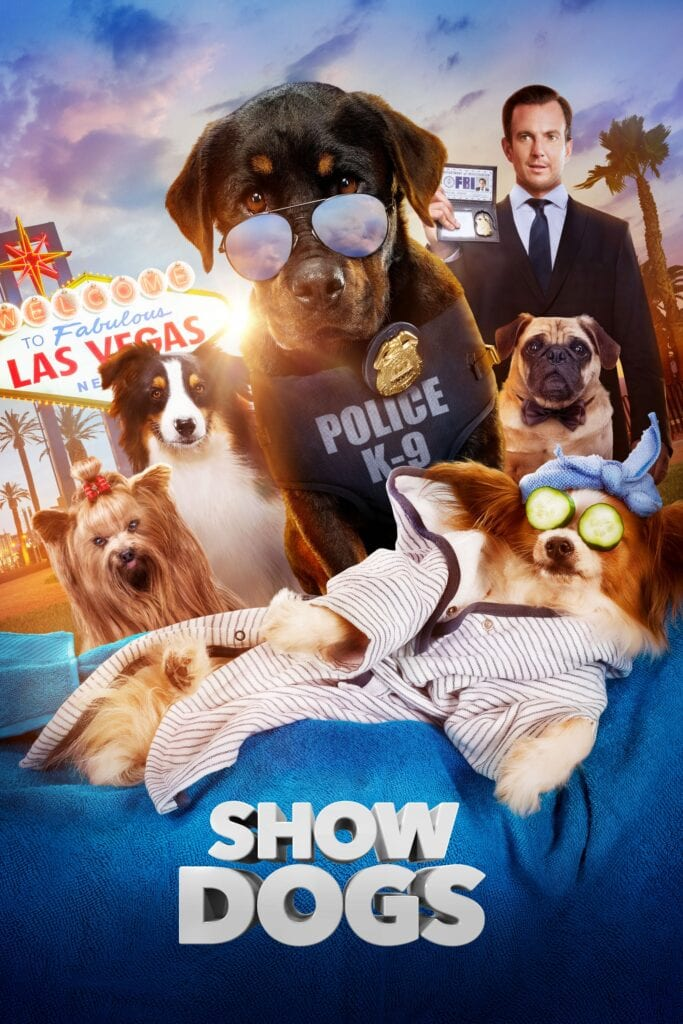 """Poster for the movie """"Show Dogs"""""""