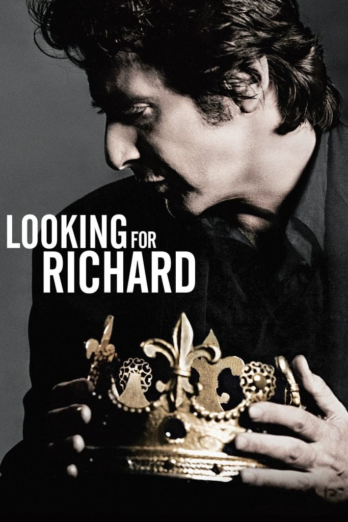 """Poster for the movie """"Looking for Richard"""""""