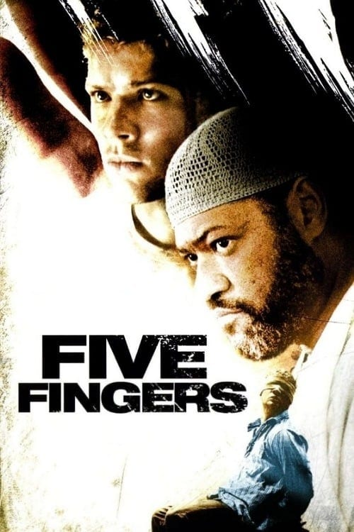"""Poster for the movie """"Five Fingers"""""""