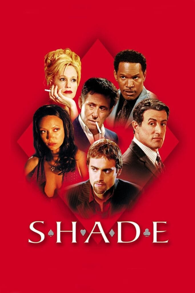 """Poster for the movie """"Shade"""""""