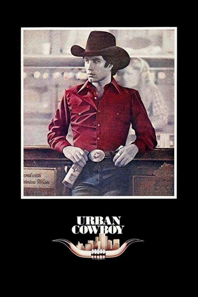 """Poster for the movie """"Urban Cowboy"""""""