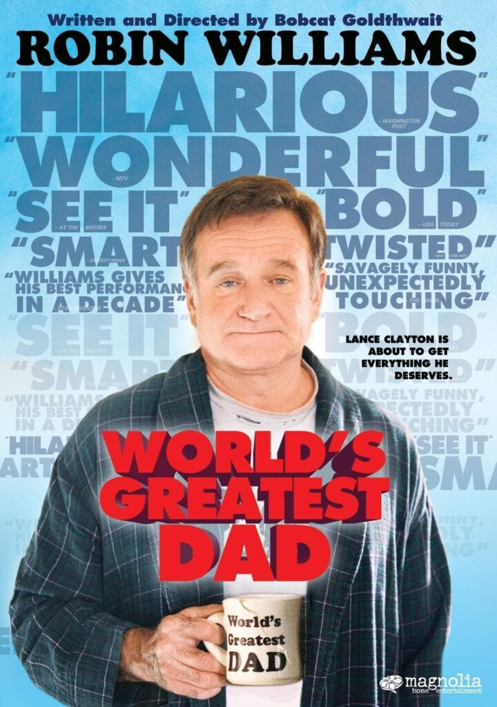 """Poster for the movie """"World's Greatest Dad"""""""
