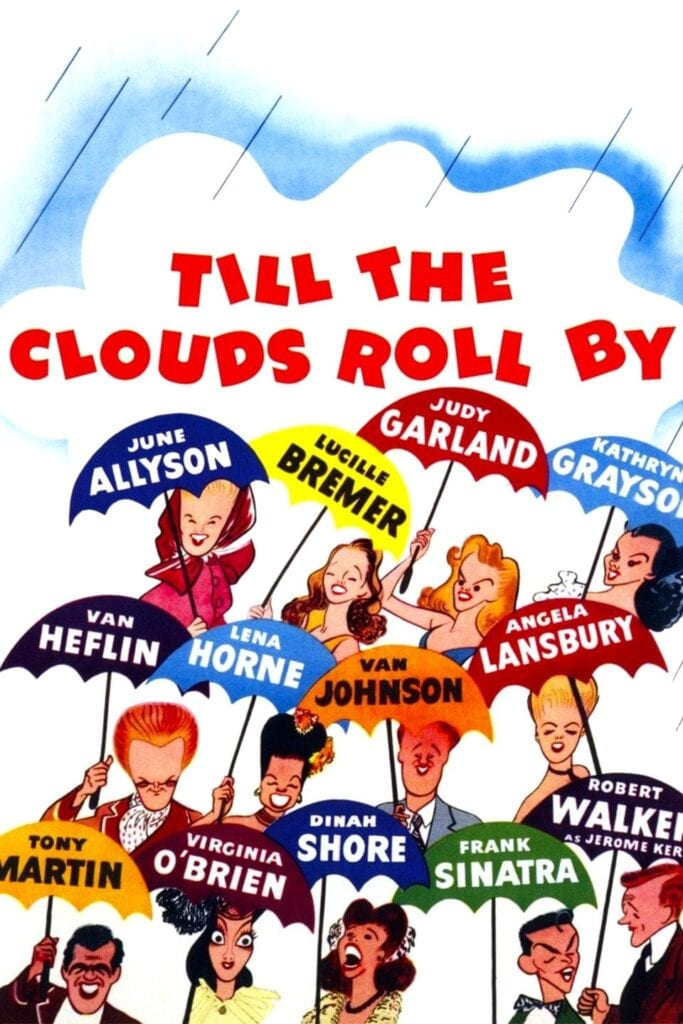 """Poster for the movie """"Till the Clouds Roll By"""""""