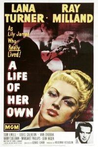 """Poster for the movie """"A Life of Her Own"""""""