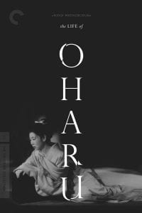 """Poster for the movie """"The Life of Oharu"""""""