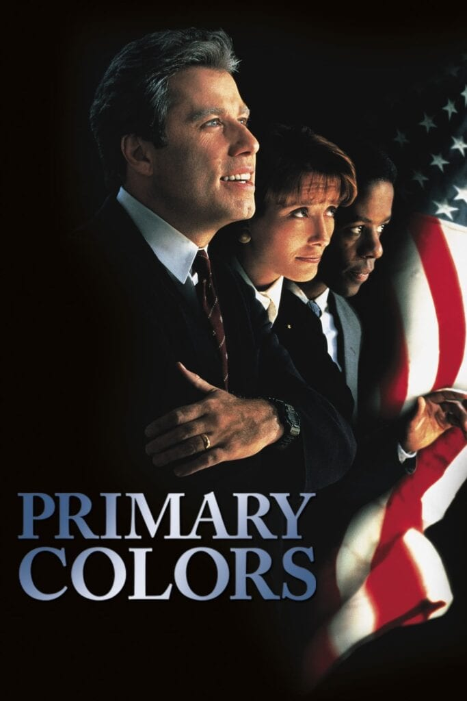 """Poster for the movie """"Primary Colors"""""""