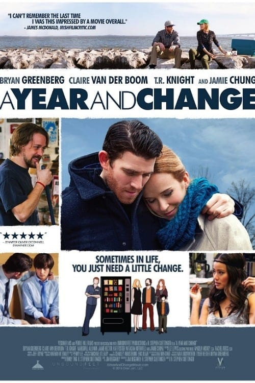"""Poster for the movie """"A Year and Change"""""""