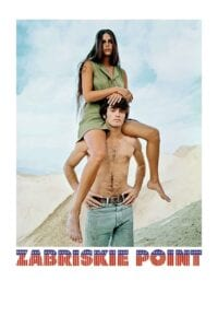 "Poster for the movie ""Zabriskie Point"""