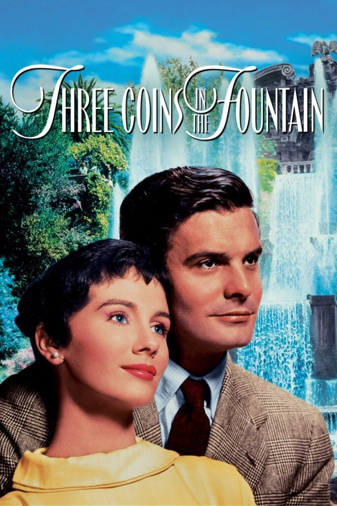 """Poster for the movie """"Three Coins in the Fountain"""""""