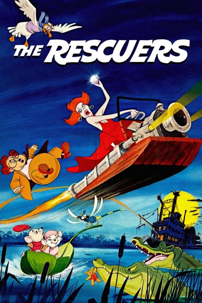 """Poster for the movie """"The Rescuers"""""""