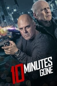 "Poster for the movie ""10 Minutes Gone"""