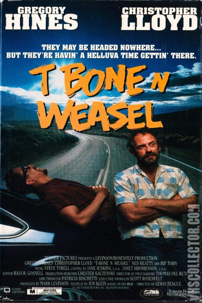 """Poster for the movie """"T Bone N Weasel"""""""