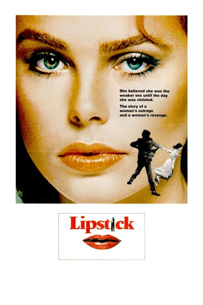 """Poster for the movie """"Lipstick"""""""