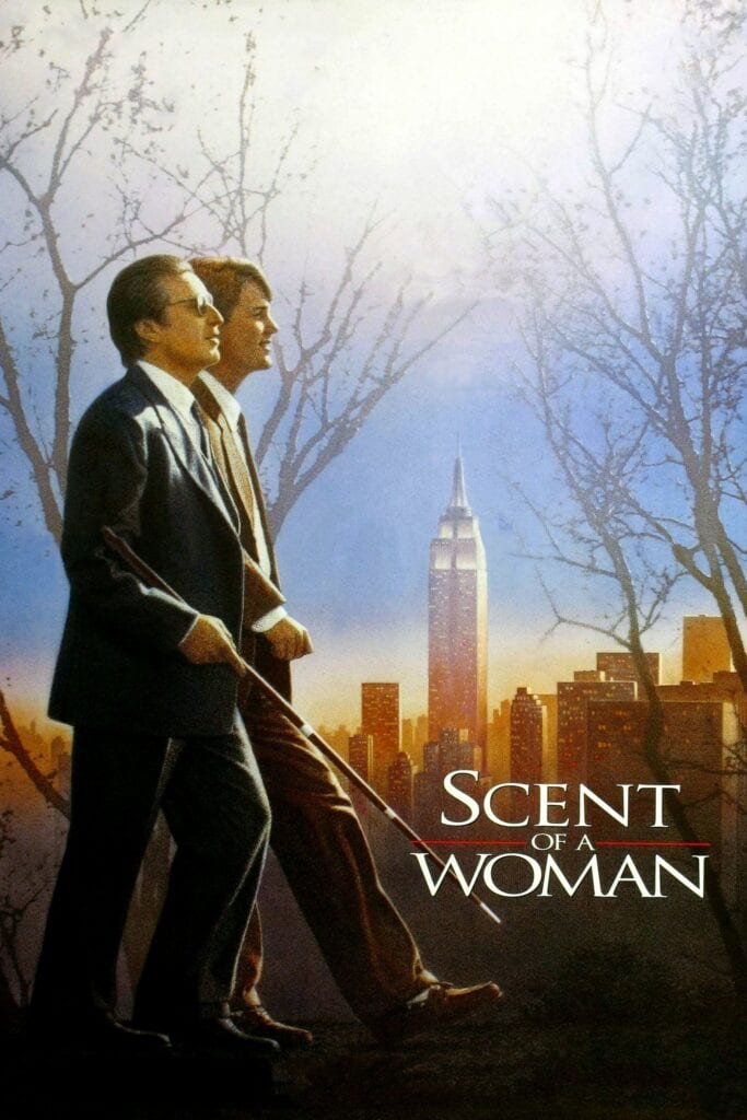 """Poster for the movie """"Scent of a Woman"""""""