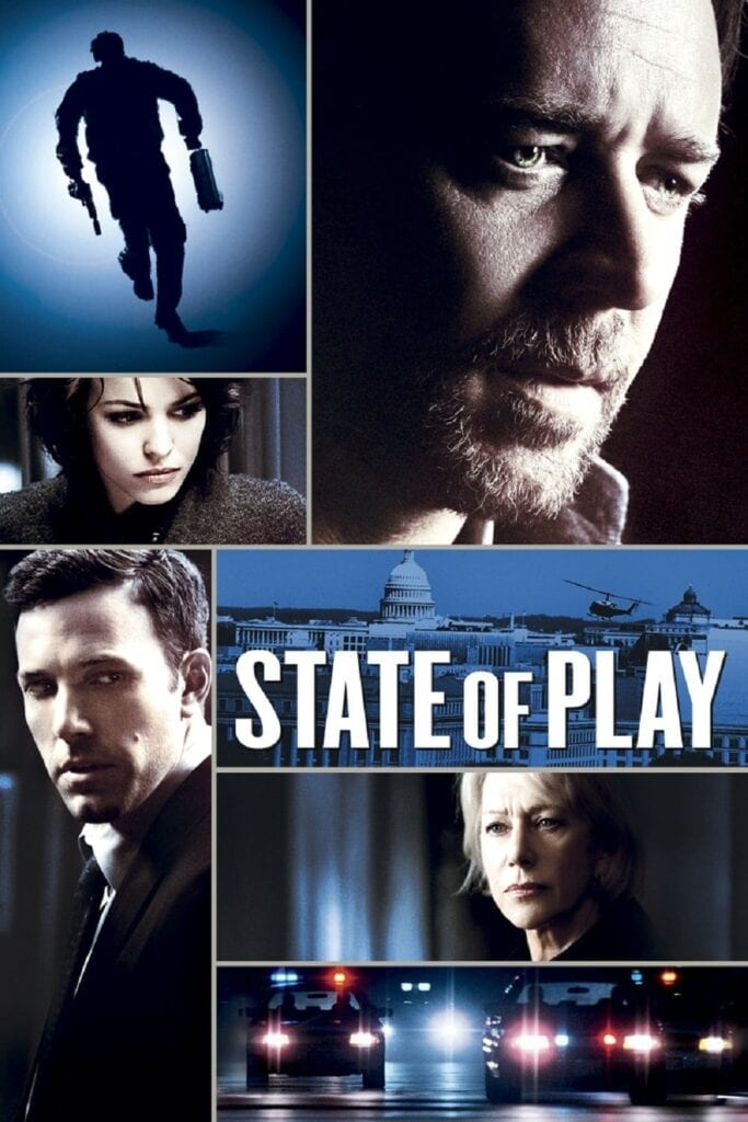 """Poster for the movie """"State of Play"""""""