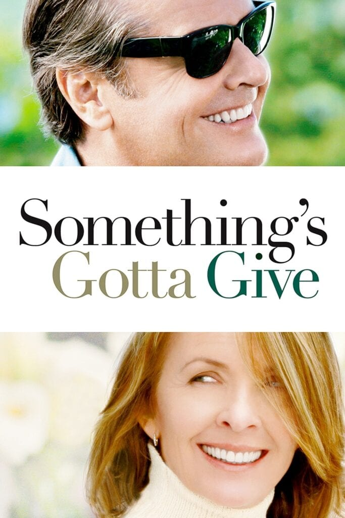 """Poster for the movie """"Something's Gotta Give"""""""