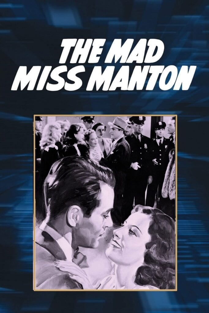 """Poster for the movie """"The Mad Miss Manton"""""""