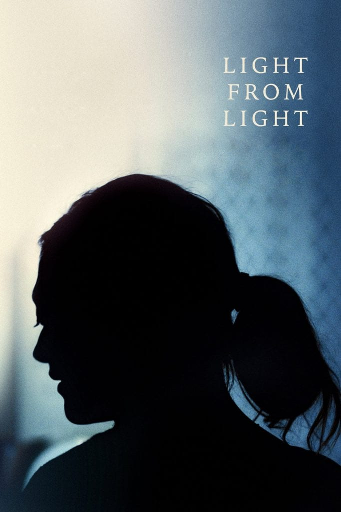 """Poster for the movie """"Light from Light"""""""