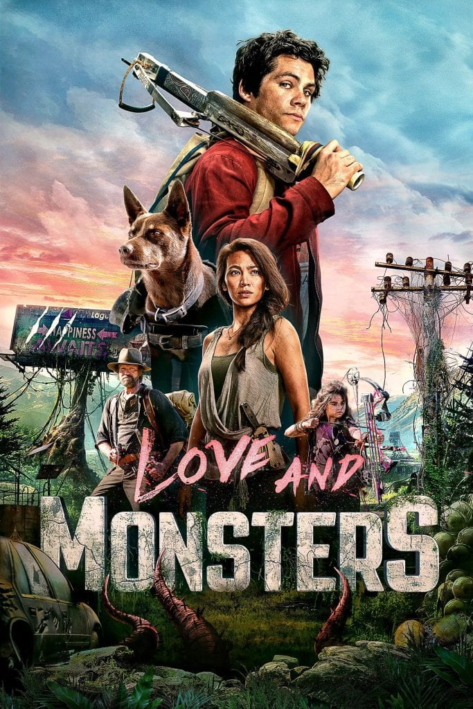 """Poster for the movie """"Love and Monsters"""""""