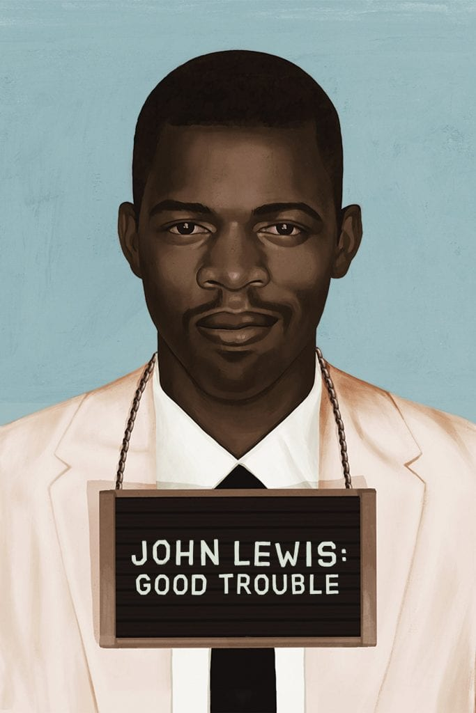 """Poster for the movie """"John Lewis: Good Trouble"""""""