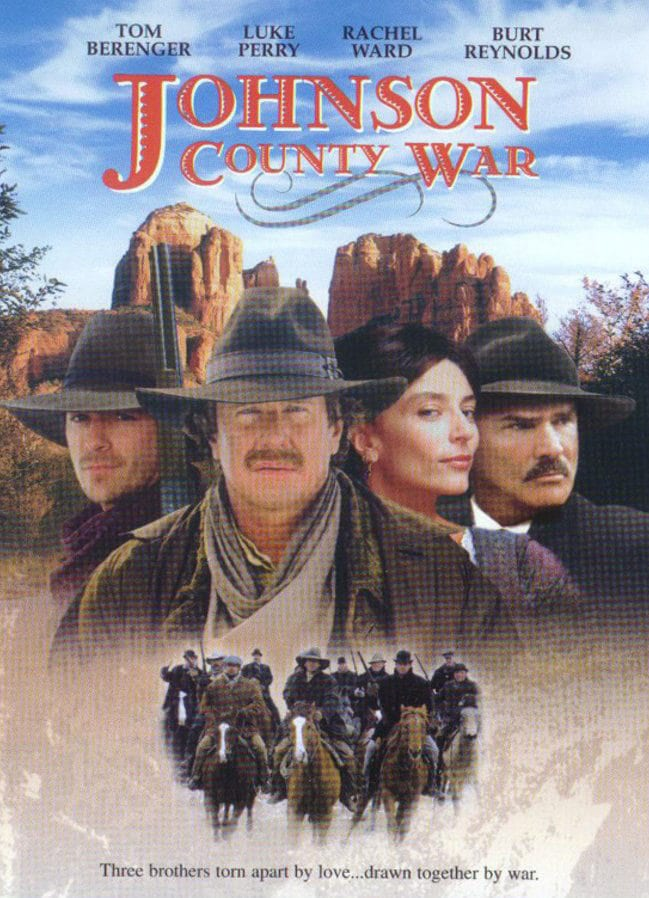 """Poster for the movie """"Johnson County War"""""""