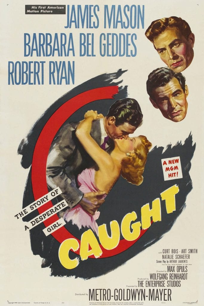 """Poster for the movie """"Caught"""""""