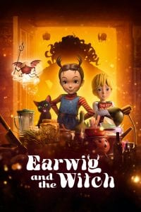"""Poster for the movie """"Earwig and the Witch"""""""