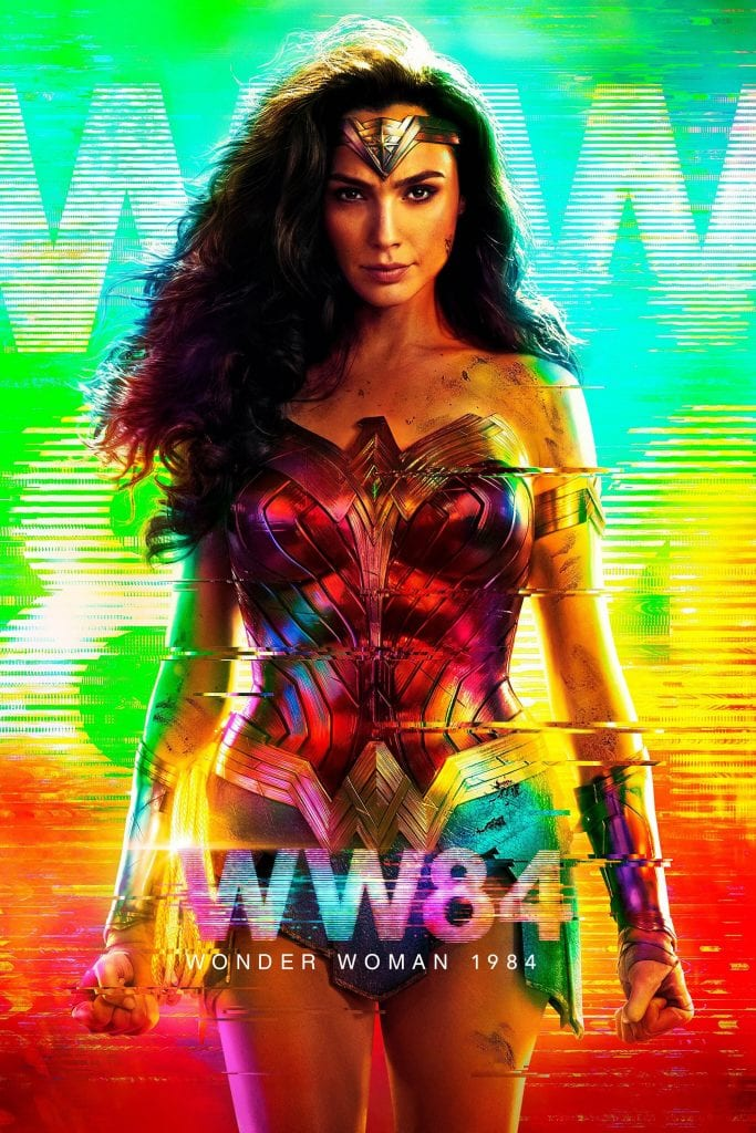 """Poster for the movie """"Wonder Woman 1984"""""""